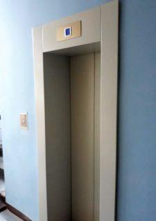 построенный лифт