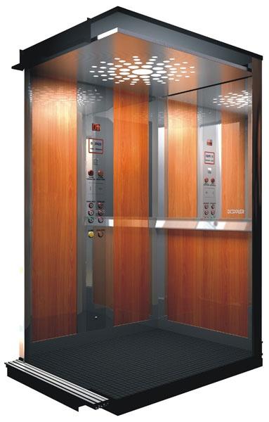 Пример пассажирского лифта компании Элеватор