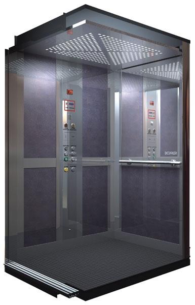 Пример интерьера для лифта
