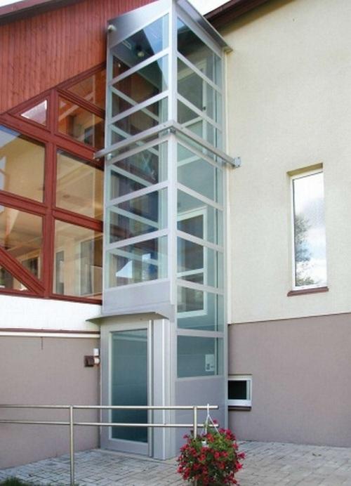 Подъемник для людей с ограниченными возможностями для двухэтажного дома