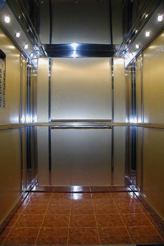 Освещение внутри лифта