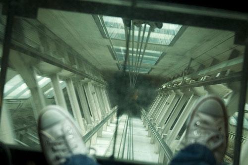 Лифт небоскреба Sky Tower