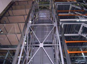 Металлоконструкции для шахты лифта