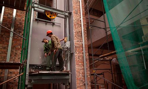 монтаж и обслуживание лифтов
